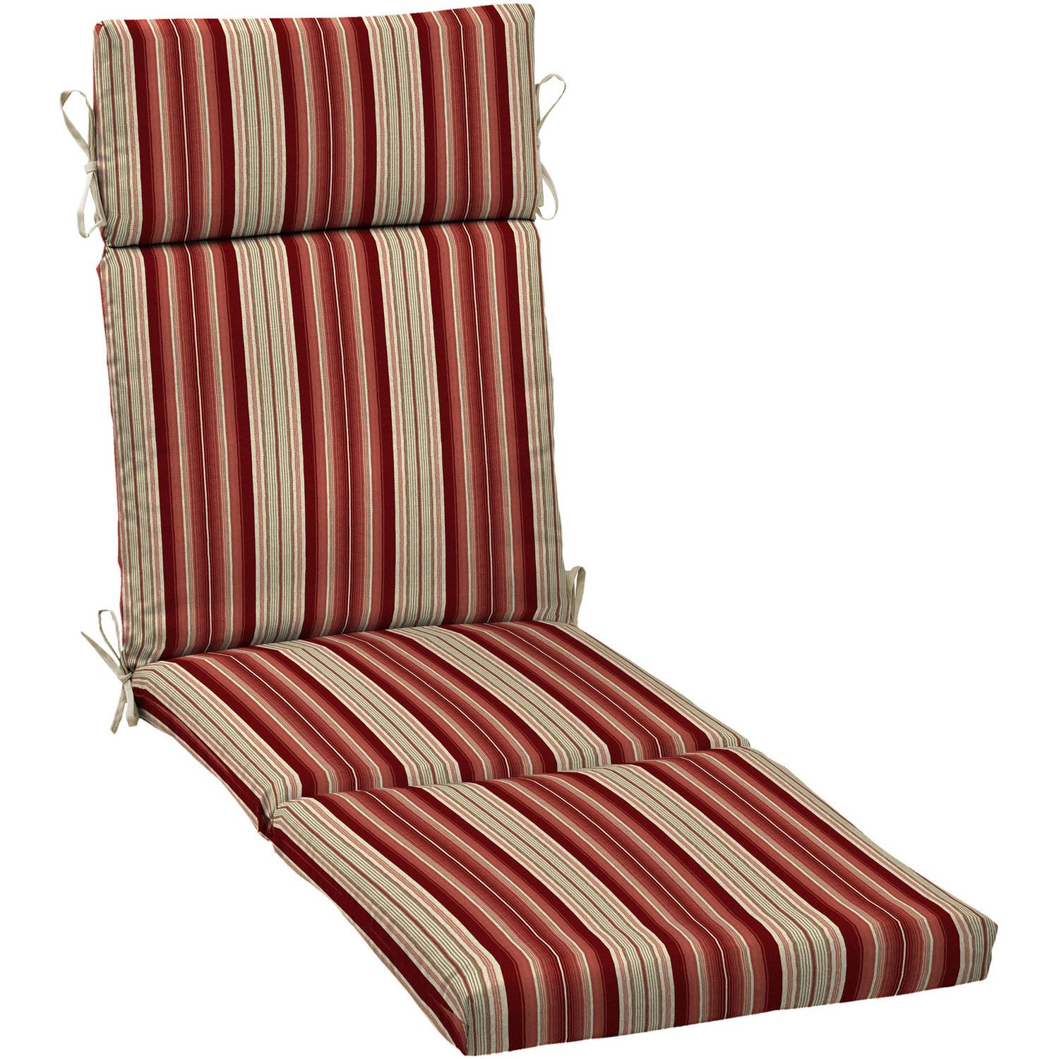 Better Homes and Gardens Outdoor Patio Chaise Lounge Cushion Multiple Patterns  sc 1 st  Walmart : chaise patio cushions - Sectionals, Sofas & Couches