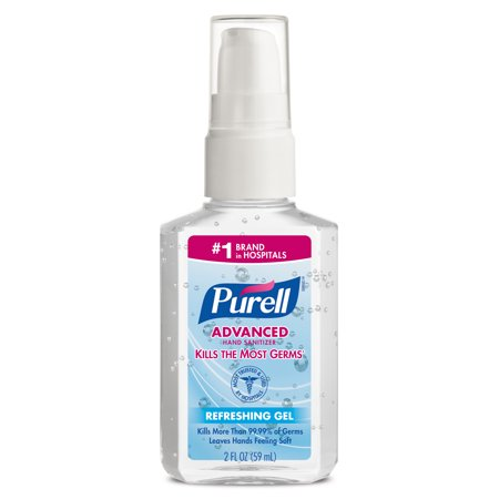 Purell Hand Sanitiser ((Pack of 24) PURELL Advanced Instant Hand Sanitizer, 2 oz Personal Pump Bottle)
