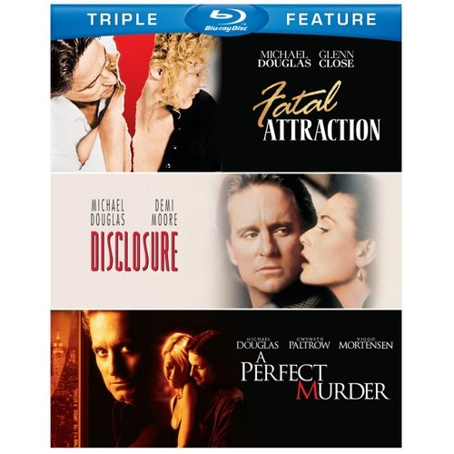Fatal Attraction / Disclosure / A Perfect Murder (Blu-ray) (Widescreen)