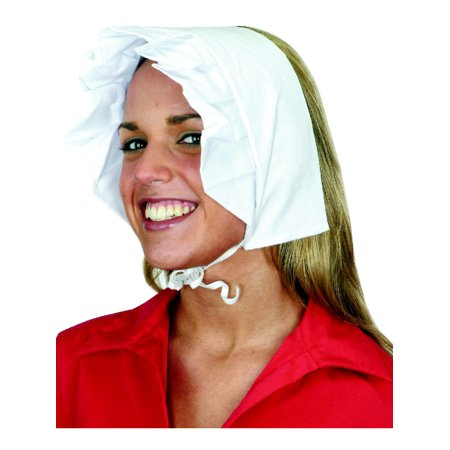 Women's Amish Puritan Quaker Pioneer Bonnet Hat Costume (Pioneer Bonnet Pattern)