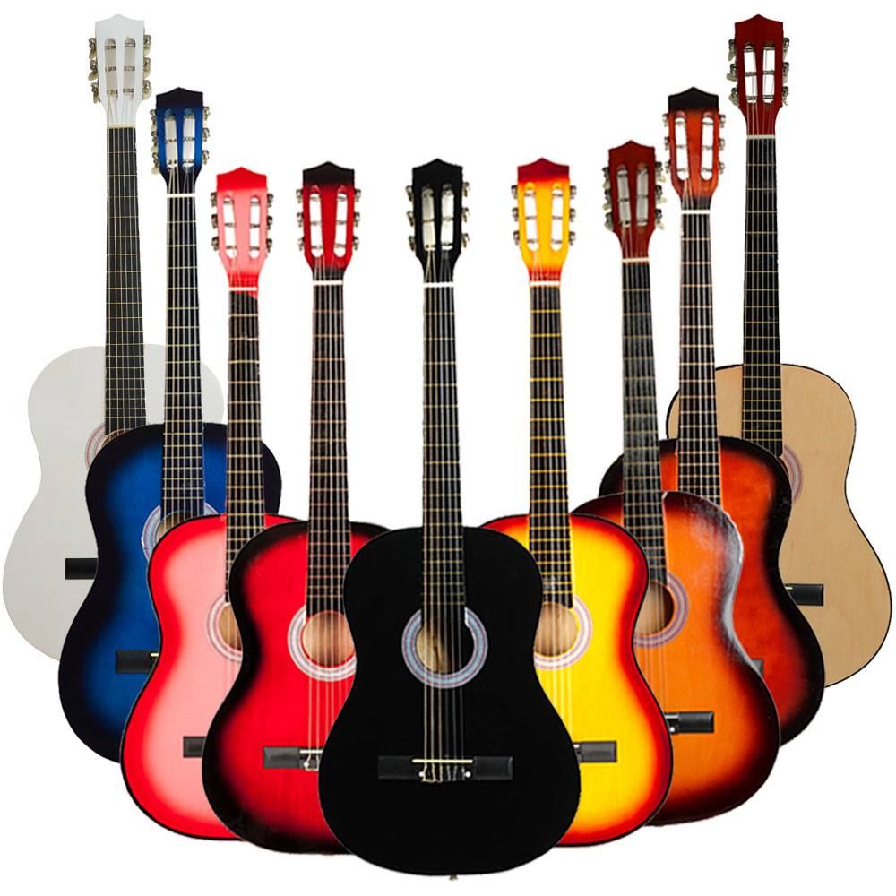 "Ktaxon 38"" Professional Acoustic Classic Guitar Beginner's Instrument 9 Color"
