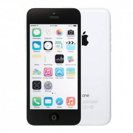 refurbished apple iphone 5c t mobile white 16gb me529ll a 2013. Black Bedroom Furniture Sets. Home Design Ideas