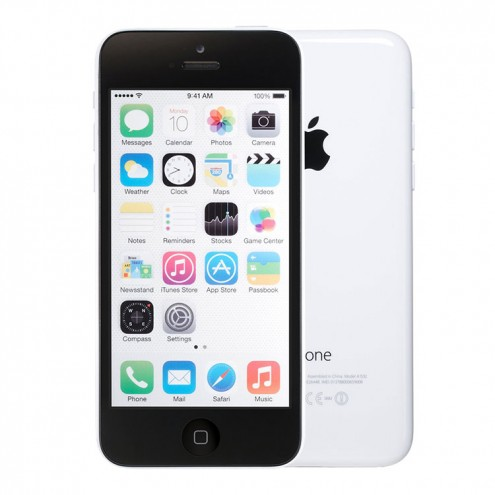 Refurbished Apple iPhone 5c 8GB, White - T-Mobile