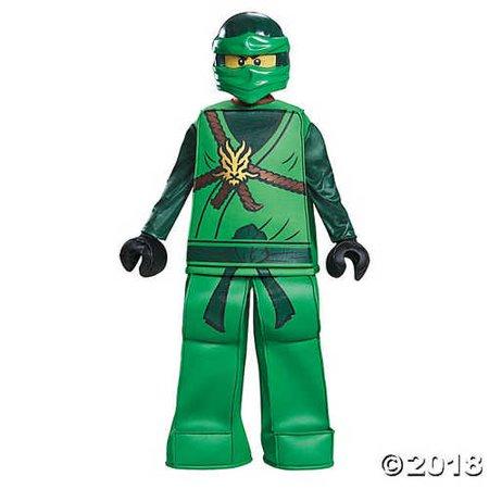Lloyd Prestige Ninjago Lego Costume, Small/4-6 (Lloyd Garmadon Costume)