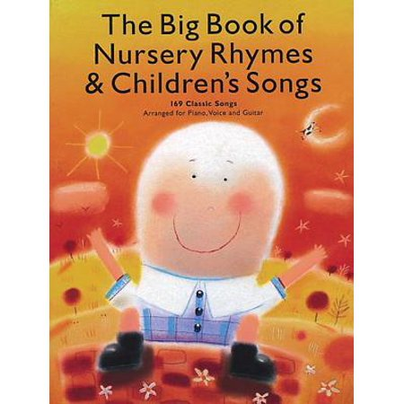 The Big Book of Nursery Rhymes & Children's Songs (Paperback) - Classic Children's Halloween Songs