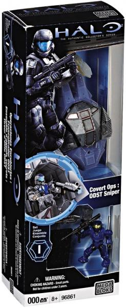 Halo Covert Ops: ODST Sniper Set Mega Bloks 96861 by Mega Brands