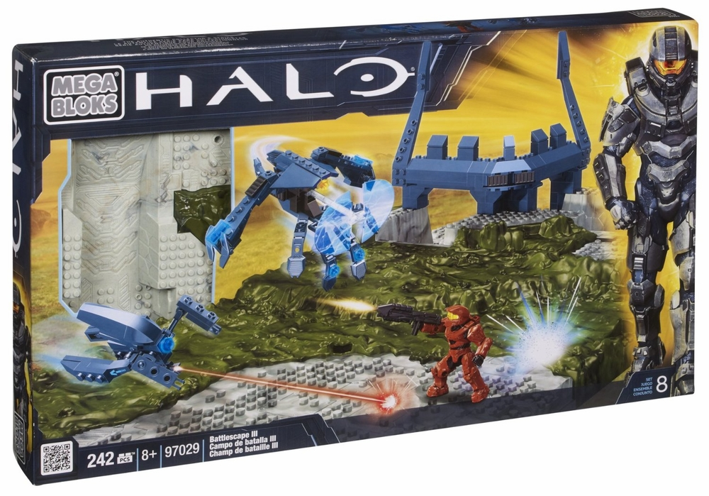 Halo Battlescape III Set Mega Bloks 97029 by Generic