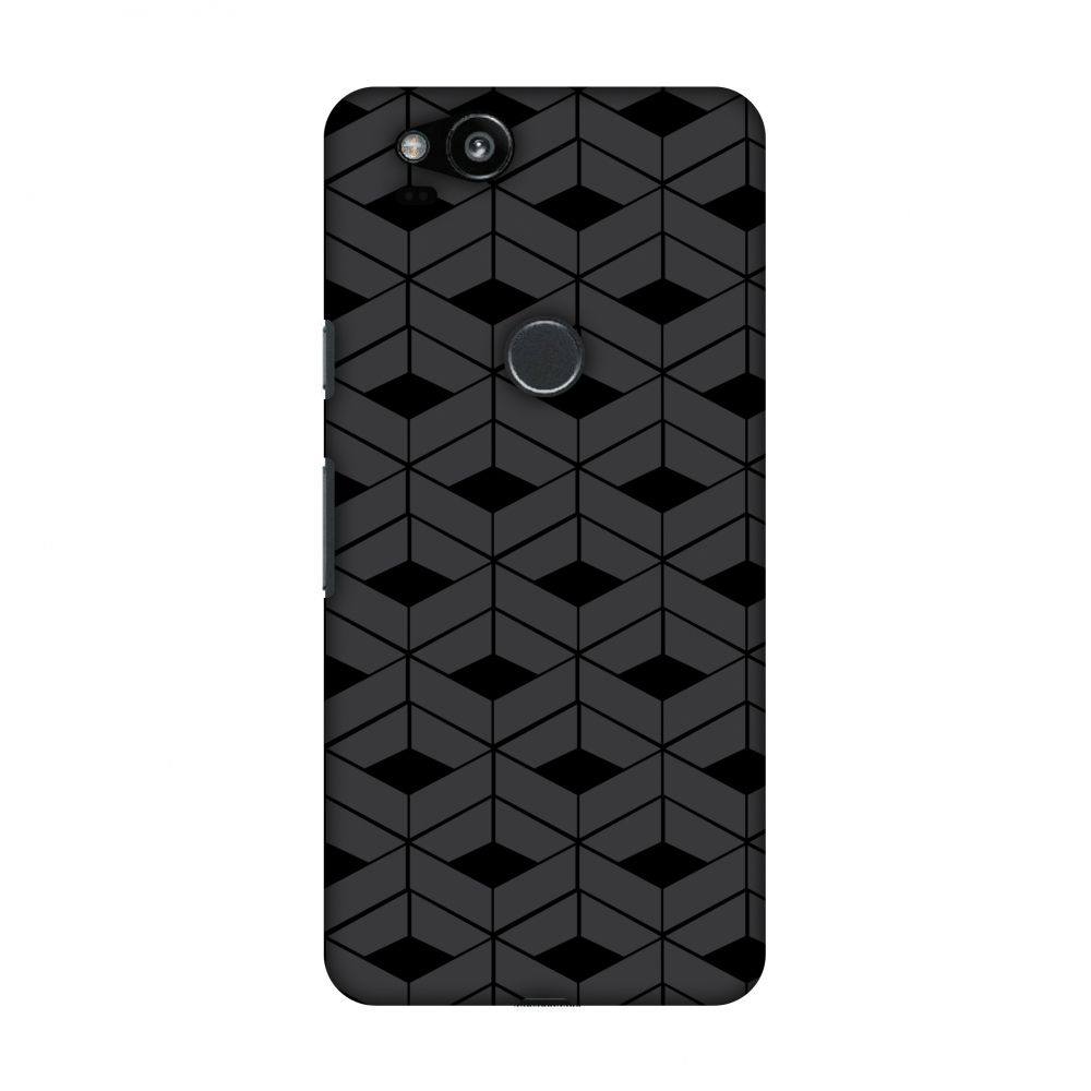 Google Pixel 2 Case, Premium Handcrafted Designer Hard Shell Snap On Case Printed Back Cover with Screen Cleaning Kit for Google Pixel 2, Slim, Protective - Carbon Fibre Redux 9