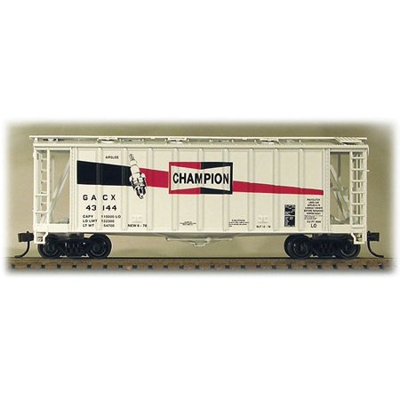 - ConCor HO Scale GATX Airslide Covered Hopper Champion Spark Plugs #43144