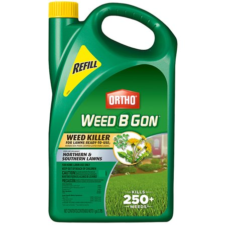 Ortho Weed B Gon Weed Killer For Lawns Ready To Use2 Refill 1 Gal