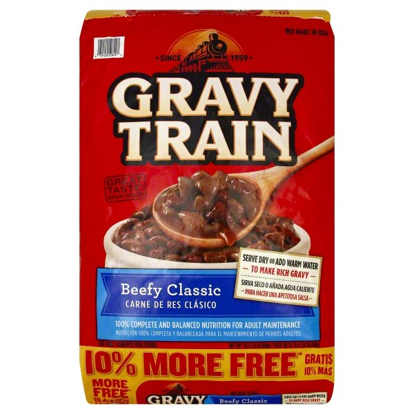 Gravy Train Beefy Classic Dry Dog Food (Various Sizes) by The J.M. Smucker Company