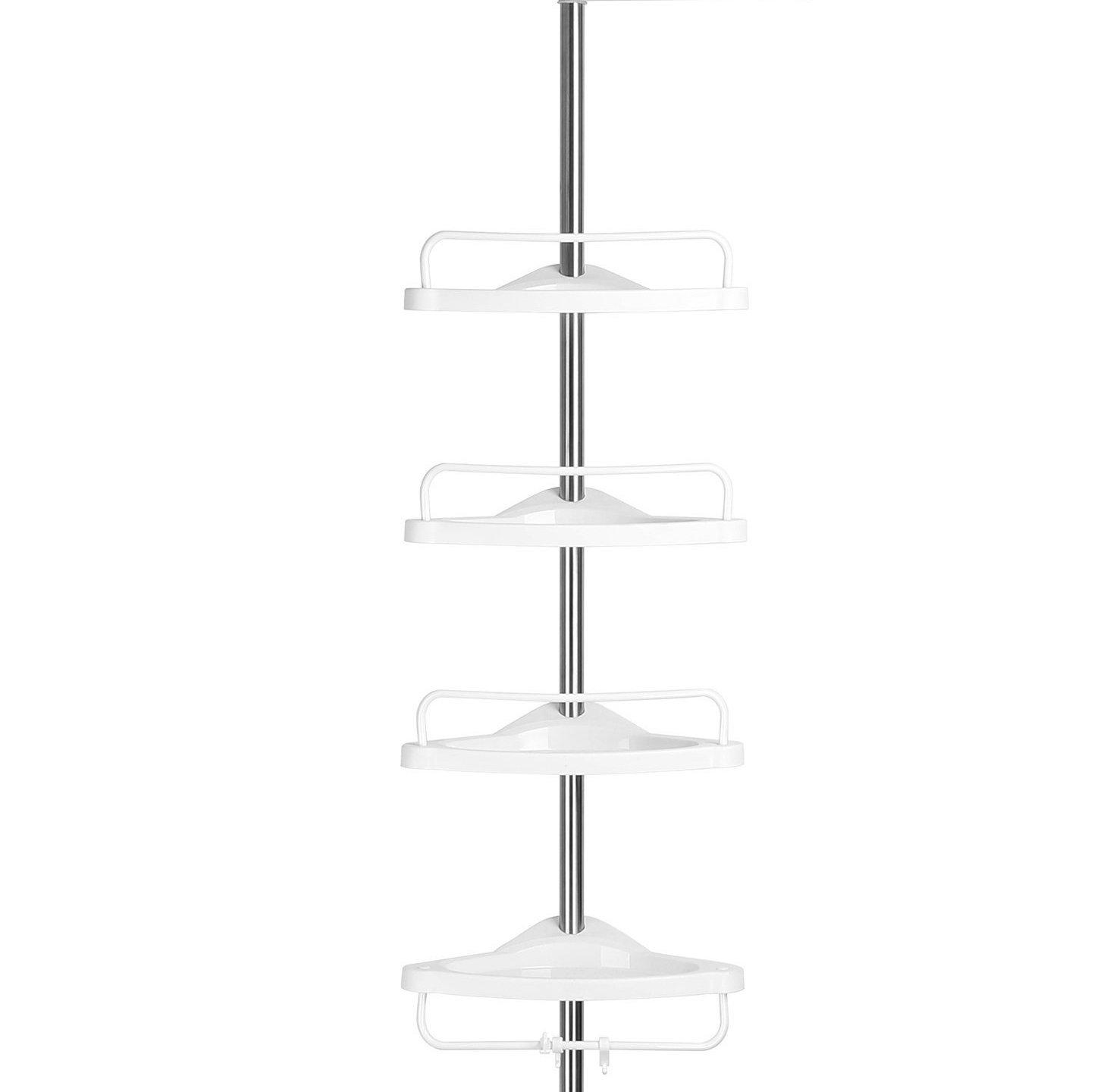 plastic corner shower caddy constant tension pole with adjustable plastic corner shower caddy