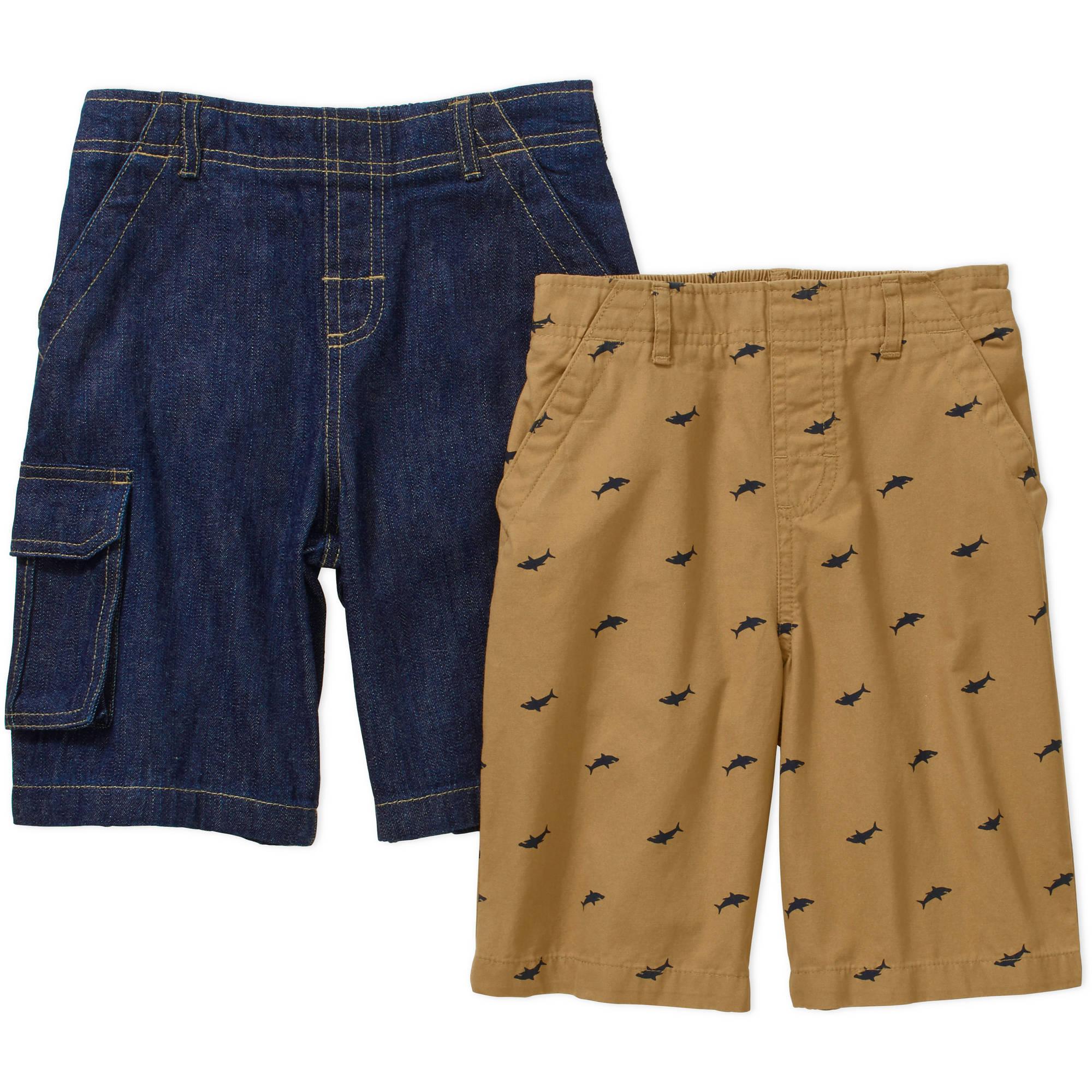 365 Kids From Garanimals Boys' 2 Piece Woven Shorts Set