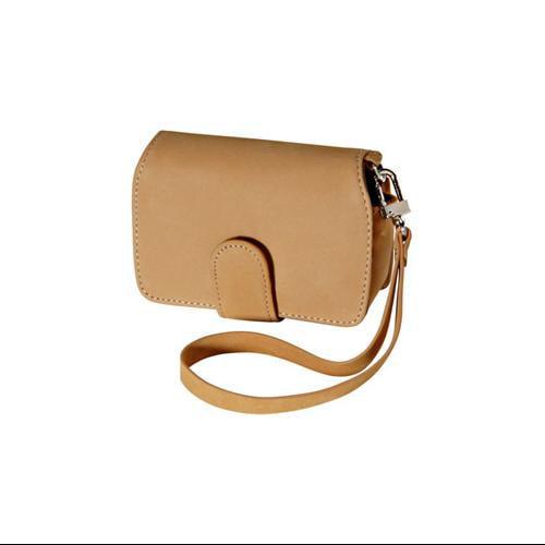 Olympus Premium Compact Leather Digital Camera Case (Camel)