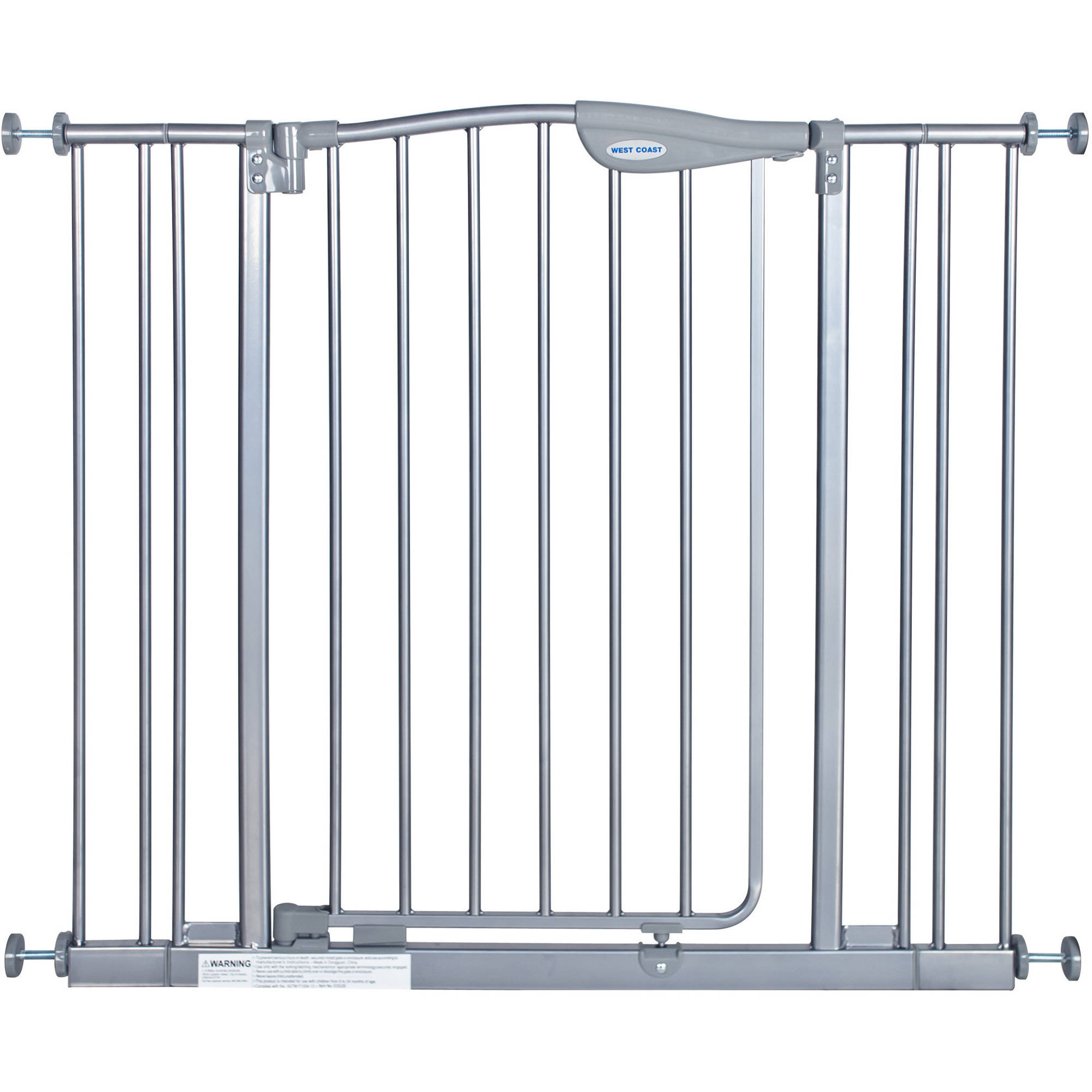 LA Baby Self Closing Gate with 2 Extensions