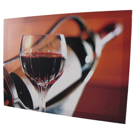 Pair of Wine Themed Printed Canvases - image 3 of 4