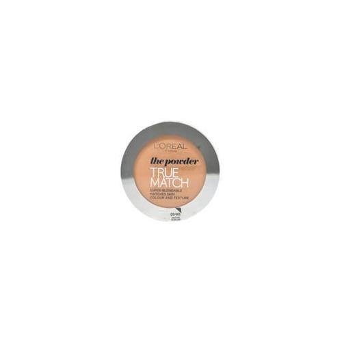 True Match Powder D5 - W5 Golden Sand L'Oreal Paris 9 g Powder Women