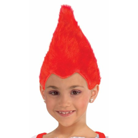 Red Child Fuzzy Wig](Red Wig For Kids)