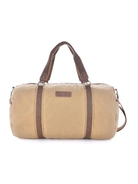 9189000449 Product Image Gootium Vintage Canvas Duffel Bag Travel Tote Shoulder Gym Bag  Weekend Bag