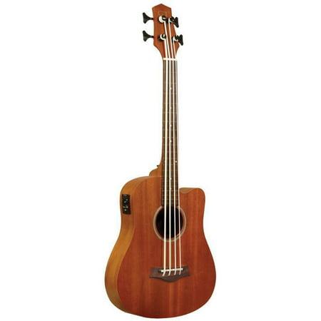 M-BASS-FL Gold Tone Fretless Micro Bass With Bag (Best Budget Fretless Bass)