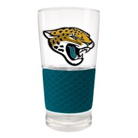 Jacksonville Jaguars 22oz. Pilsner Glass with Silicone Grip - No Size