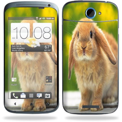 Mightyskins Protective Vinyl Skin Decal Cover for HTC One S 4G T-Mobile Cell Phone wrap sticker skins Rabbit