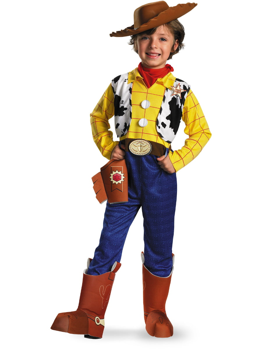 91472b47ddf Toy Story Woody Deluxe Child Halloween Costume