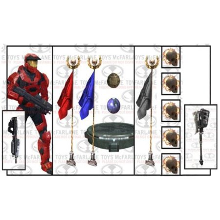 McFarlane Toys Halo Reach Series 6 Team Objective Deluxe Box Set - Halo Deluxe Box Set