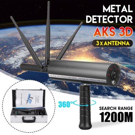 AKS 3D Pro Handhold Metal/Gold Detector Diamond Finder Detecting Machine 3937ft Long - Diamond Range