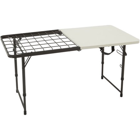 Ozark Trail 4' Fold-in-Half Grilling Camp Table