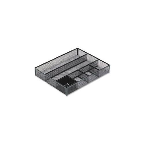 ROLODEX Deep Drawer Organizer,15-1/8x11-7/8x2-3/8,Mesh Steel,BK-22131