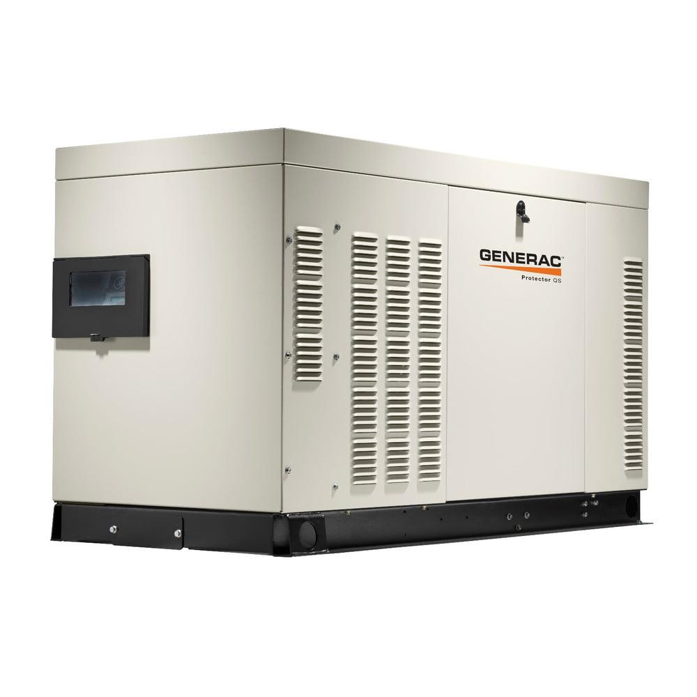 Generac RG02224ANAX Protector QS 120/240V 2.4L 22 kW Single Phase  Liquid-Cooled LP/Natural Gas Aluminum Automatic Standby Generator -  Walmart.com - Walmart.comWalmart