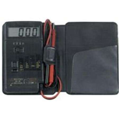 Morris Products 57060 Pocket Digital Multimeter With Vinyl Case