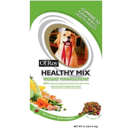 Ol' Roy Healthy Mix Weight Management Dog Food, 31.1 oz