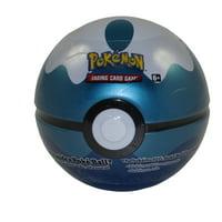 Pokemon 2020 Collectors Poke Ball Tin - DIVE BALL (3 packs & 1 Coin)