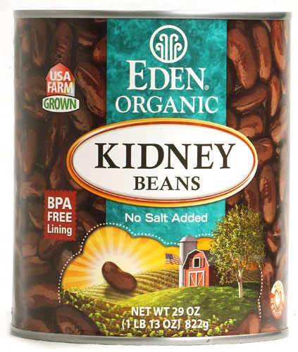 Eden Foods Organic Canned Beans Kidney Beans 29 oz by Eden