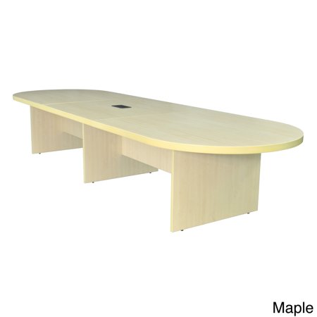 Regency Seating Modular Race Track Conference Table With PowerData - Regency conference table