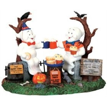 2009 Spooky Town Ghostly Gala Halloween Village Table Accent Figurine](The Cast Of Halloween Town)