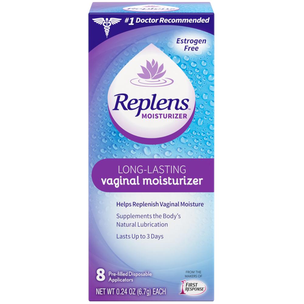 Replens Long Lasting Vaginal Moisturizer 8 Pre-filled Disposable Applicators