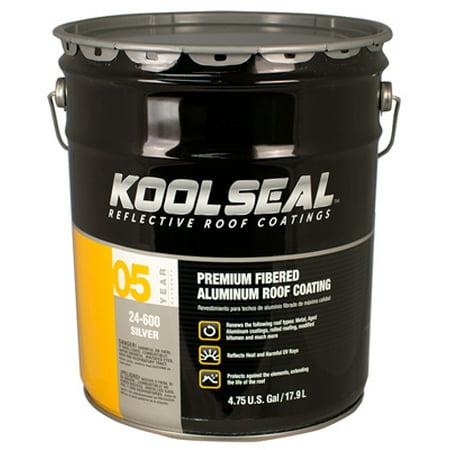 KST COATING Aluminum Roof Coating. 4.75 Gal.