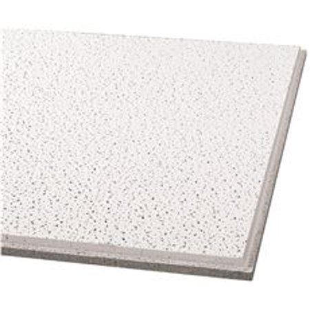 Armstrong Acoustical Ceiling Tile 1732 Fine Fissured Humiguard Plus Tegular 24x24x5 8 In