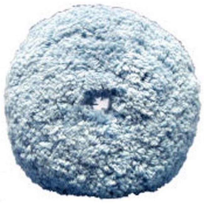 Presta  PST-890086WD Quik Pad Blue Blended Wool Soft Polish Pad - 1. 5 inch