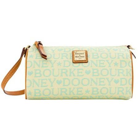 Dooney & Bourke Tapestry Small Barrel Handbag Satchel ()