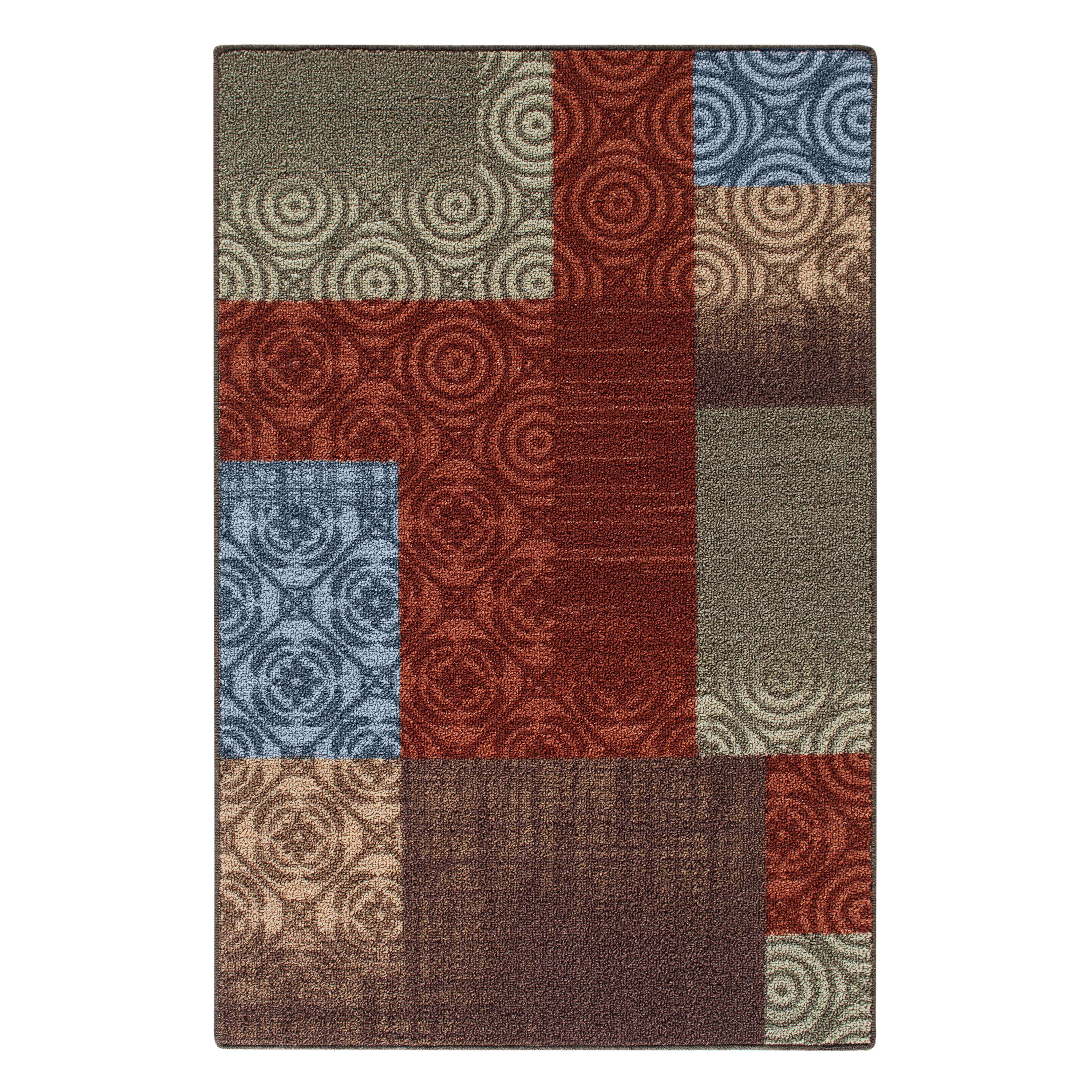 Mainstays Payton Nylon Print Area Rugs or Runner by Maples Industries
