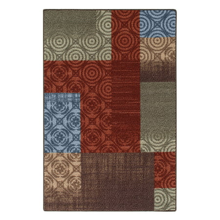 - Mainstays Payton Nylon Print Area Rugs or Runner