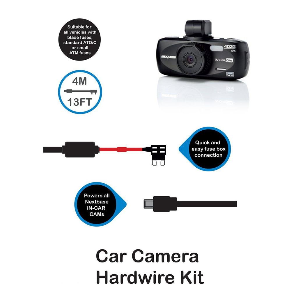 Hard Wire Kit Car Dash Cam für Nextbase 512 //512G //402G und DUOcar Kamera Kamera