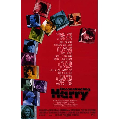 Deconstructing Harry Poster Movie Mini Promo