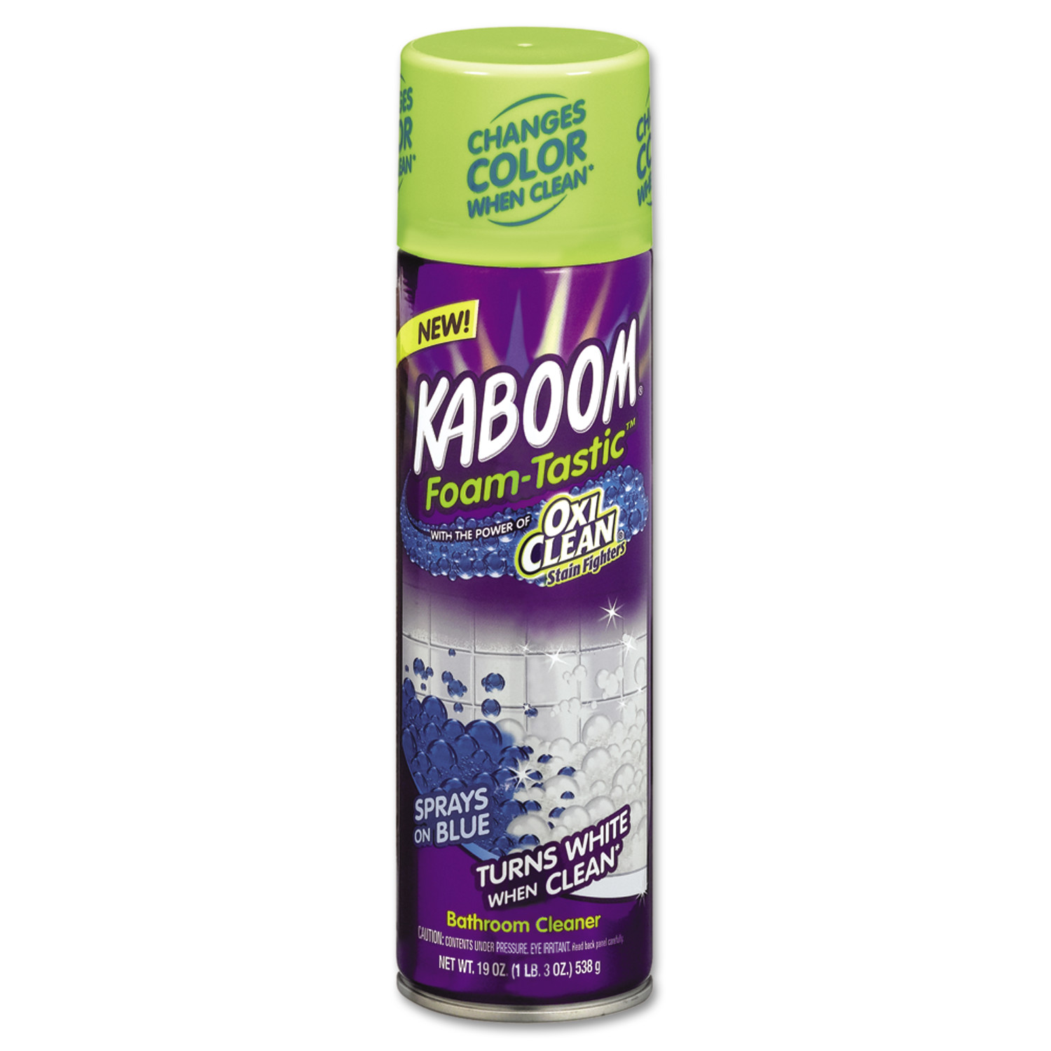 Bathroom Cleaner kaboom foamtastic bathroom cleaner, fresh scent, 19oz spray can