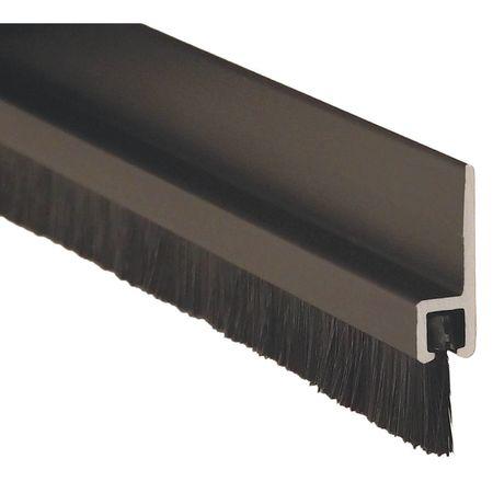 PEMKO GG18041DNB96 Double Door Weatherstrip, Brush, 8ft L, Blk