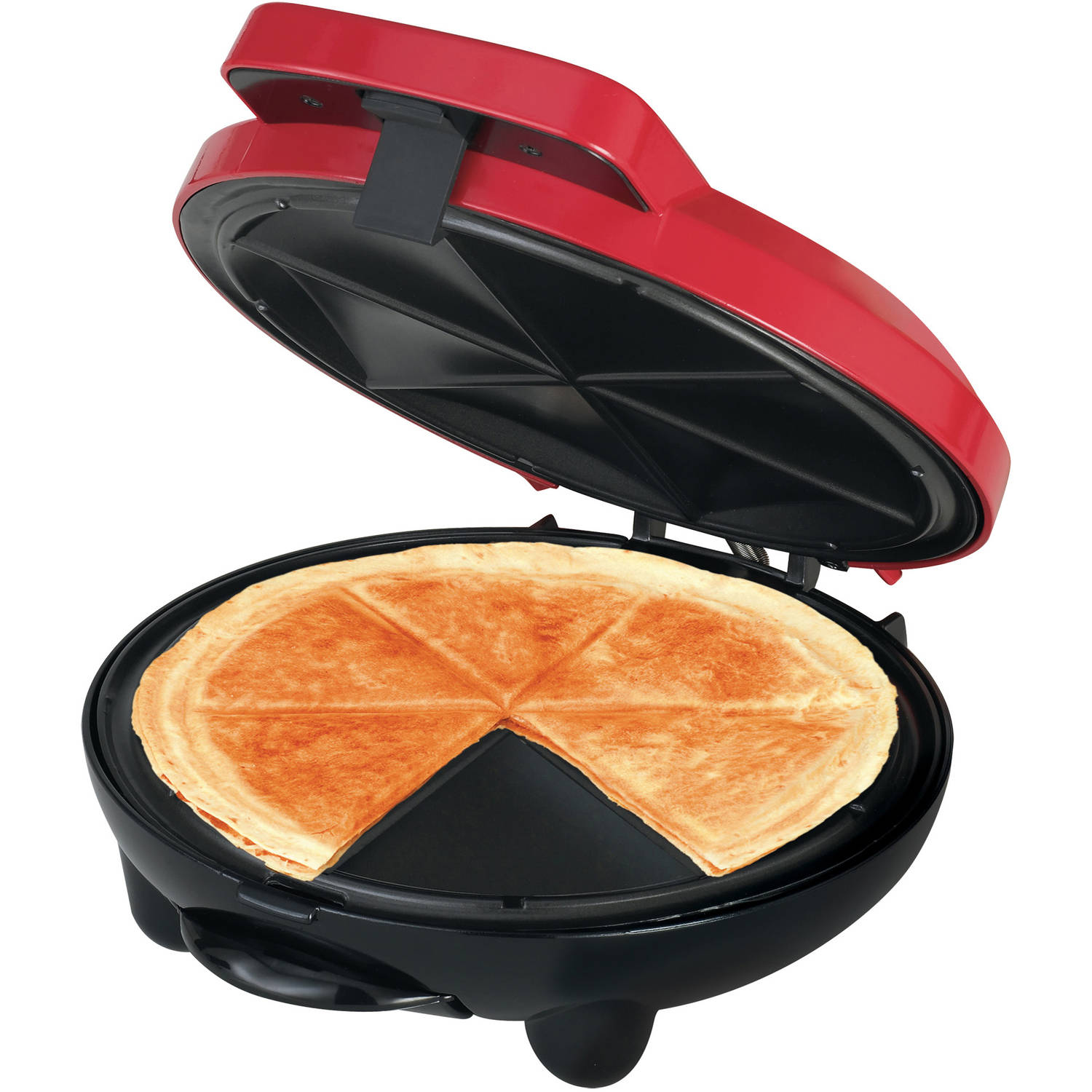 BLACK+DECKER Quesadilla Maker, 8-inch Plates,  Non-Stick, QM1088